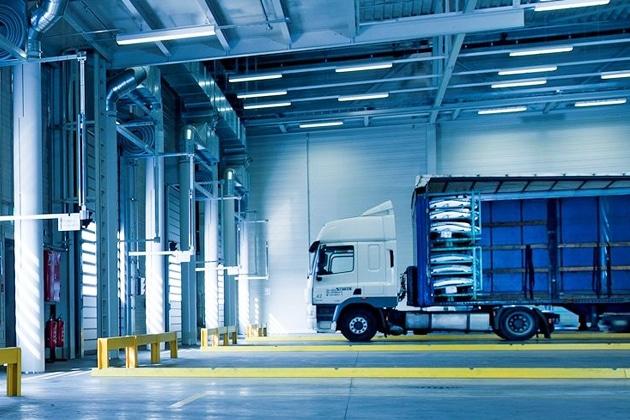 Logistics truck warehouse - MSE-Logistics